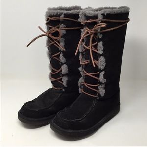 UGG Whitley Black Boots 7
